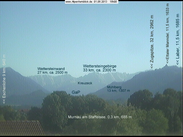 Webcam Alpenfernblick